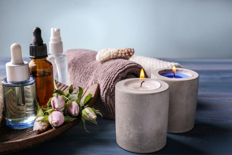 Essential Oils And Burning Candles