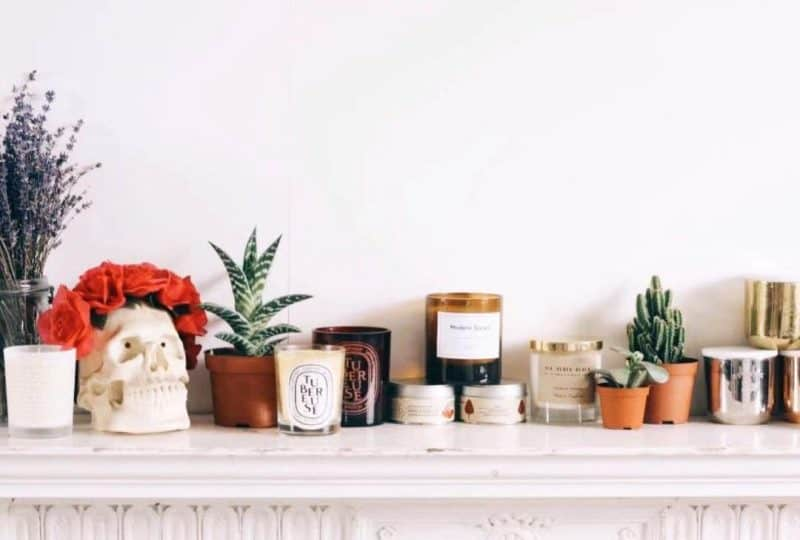 Where to Place Scented Candles?