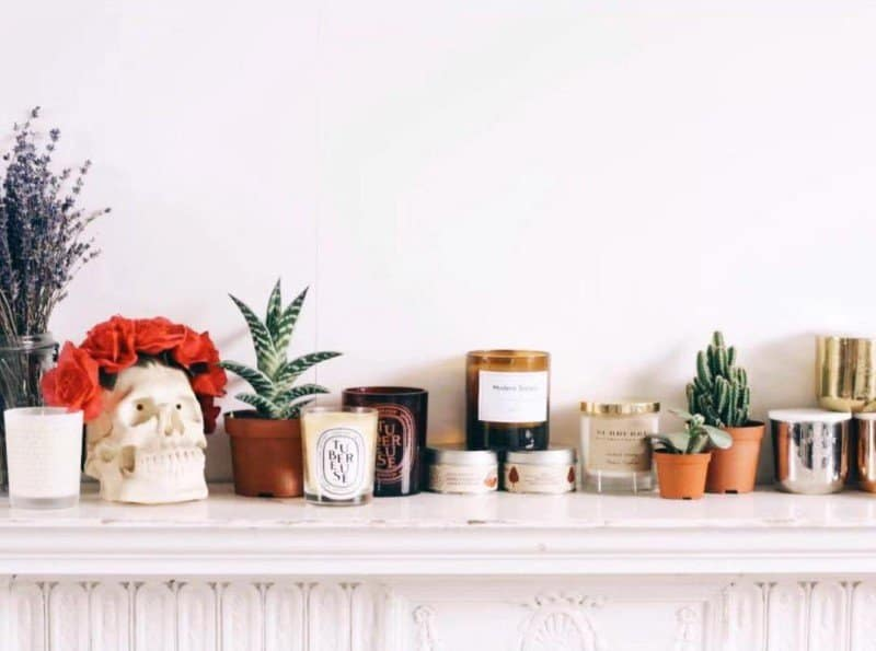 Where to Place Scented Candles