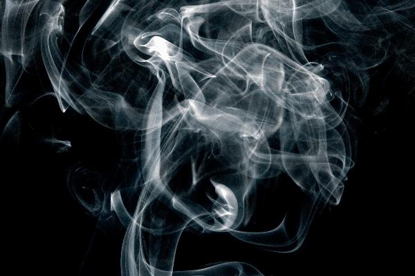 dark smoke at home