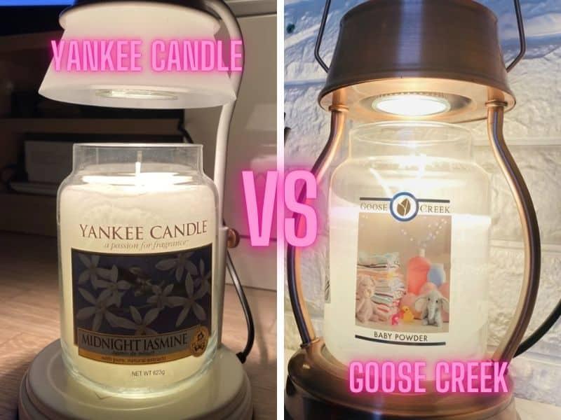 Yankee Candle vs Goose Creek