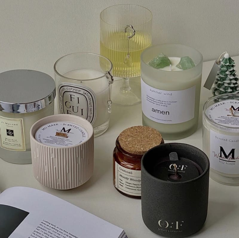 Some of my favorite scented candles
