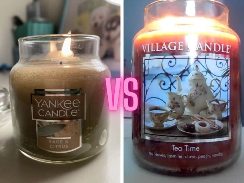 Yankee Candle vs Village Candle