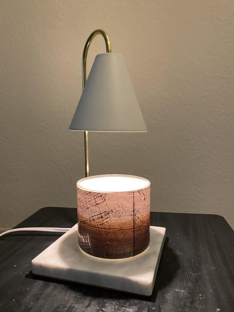 Cozyberry Dimmable Candle Warmer Lamp Review