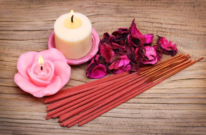 Incense vs Candles
